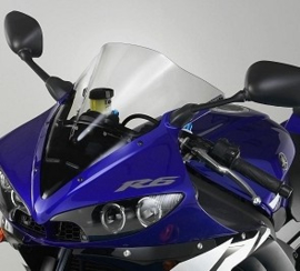 Kuipruit Yamaha R6 03-05 light smoke Fabbri