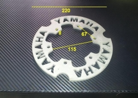 Braking Achterremschijf Yamaha