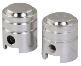 Ventieldopset zilver zuiger piston