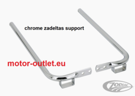 zadeltassen SADDLEBAG ZODIAC'S CHROME SUPPORTS
