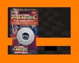 Wheel striping fluo oranje  5mm 3M