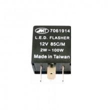 relais LED KNIPPERLICHT 12V  /  3 pin / 2-130 Watt