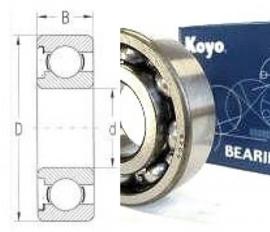 lager 6206-KOYO lager  HD OEM37722-71