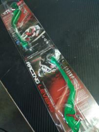Rem  & Koppelingshendel vervanging - refreshment - SET  LINKS & RECHTS TITAX lang groen