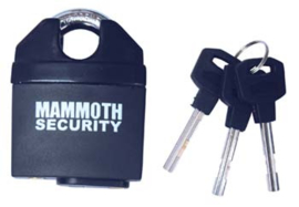 Slot Mammoth security slot 62mm pin gehard staal