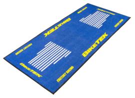 Garage Mat / Milieu Mat  Bleu-Yellow