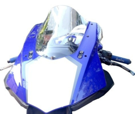 Kuipruit Yamaha R1 R1M   15-17 dark smoke Fabbri