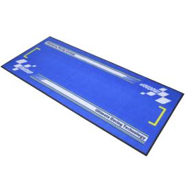 Garage Mat / Milieu Mat MotoGP  bleu Serie 4