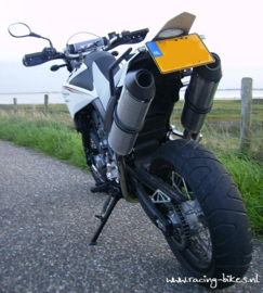 uitlaat demper set (incl.tussenpijpen) set Yamaha XT660R-X