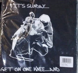 t-shirt its sunday, get on one knee........and