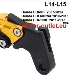 Titax koppelingshendel  L14-L15 Honda cb-cbf-cbrRR-NC