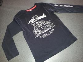 t-shirt kinder (lange mouw)Retro Racing 110/116