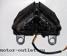 achterlicht DUCATI 848-1098 - 1198 SMOKE  LED  geintegreerde knipperlichten