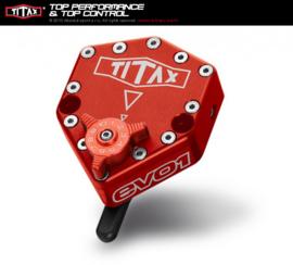 Stuurdemper Titax RotaryRed