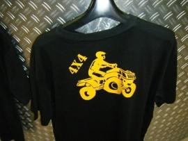t-shirt kinder 4x4 quad maat 164