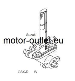 BENZINE kraan & afdichting Suzuki GSXR 1980-1992
