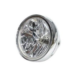 koplamp lichtgewicht CHROOM ABS