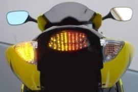 achterlicht Suzuki GSXR1000 (05-06)  LED  met richtingaanwijzerfunctie