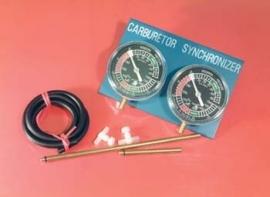 Synchroniseer  vacuüm meter set Profi 2 cilinder