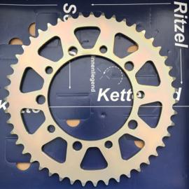 Kettingwiel (6) Suzuki GSX-R 1000 K1 t/m K8 Wieres Alu 1670-48