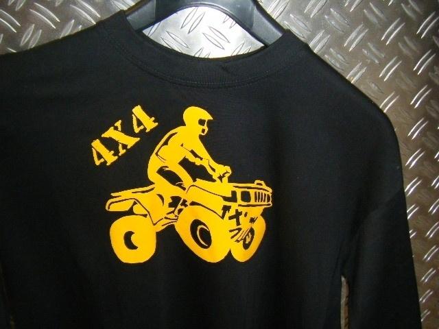 t-shirt 4x4 quad