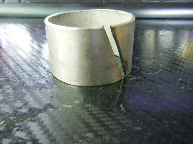 uitlaatverloopstuk  43/44 > 50 mm Aluminium