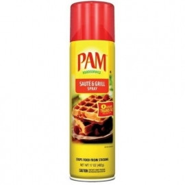 Saute & Grill - PAM Cooking Spray - 17oz