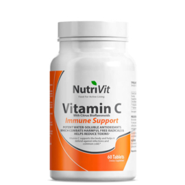 Vitamin C 500mg with Citrus Bioflavonoids - Nutrivit - 60 capsules