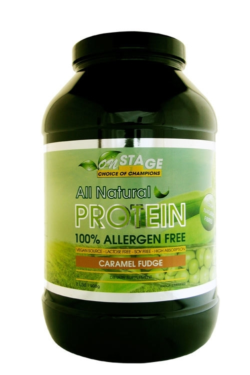 All Natural Pea Protein - Onstage Nutrition - 908 gram