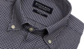 Overhemd 100% katoen, herfst flanel, twill, button down kraag, lange mouw, (196057)