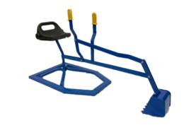 Zandbak kraan (blauw)
