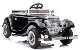 Mercedes-Benz Typ 540K, zwart metallic, BlueTooth, 2.4ghz softstart, leder, Eva  (MB540Kzw)