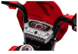 All-Road toermotor/Crossmotor 6v   Rood   ( B912rd)