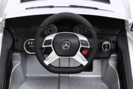 Mercedes ML350 metallic zwart , 2.4ghz softstart, leder , rubberbanden ( ML350zw)