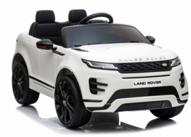 Range Rover Evoque, BlueTooth, wit, FM radio, Leder Look, EVA, 2.4ghz RC  (EVOwt))