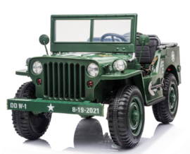 Army jeep green     Arrival pending