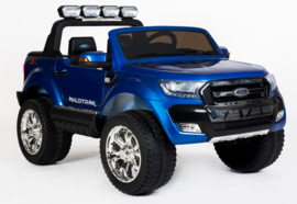 Ford Ranger Mp4 ,blauw metallic, Mp4 TV, 4x4, leder, softstart, bluetooth, 2x12V accu (FRmp4blue)