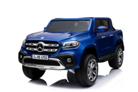 XMX-606  mercedes X-class blue paint mp4    arrival date still pending