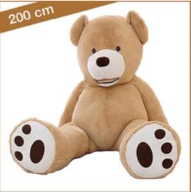 "Grote Knuffelbeer ""Berta"" XXL 200cm lichtbruin - TB-2021BXXL200LB"