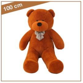 """Knuffelbeer """"Boris"""" 100cm donkerbruin - TB-2021B100DB"""
