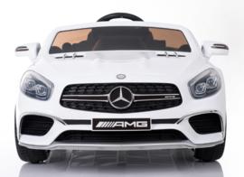 Mercedes-Benz SL65 wit, Mp4 TV, leder, eva, 2.4ghz rc ( XMX-602wt)