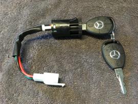 Mercedes Benz sleutelset met contactslot