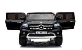 Mercedes-Benz X-Class, Metallic zwart, 4WD, Mp4 tv, FM, BlueTooth, Leder, etc (XMX606zw)