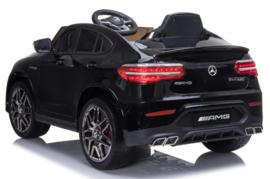Mercedes-Benz GLC 63S V8 Bi-Turbo,metallic zwart, 12V, leder,eva, 2.4ghz rc (5688zw)