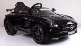 Mercedes SLS mp4 black paint         18-2-2020