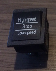 Schakelaar hi/low speed