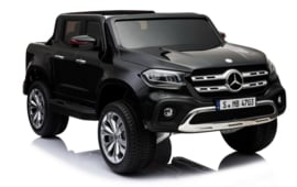 Mercedes-Benz X-Class, Metallic zwart, 4WD, Mp4 tv, FM, BlueTooth, Leder, etc (XMX-606zw)