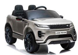 Range Rover Evoque, BlueTooth, zilver metallic, FM radio, Leder Look, EVA, 2.4ghz RC  (EVOzil))