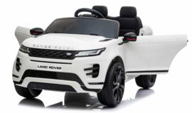 Range Rover Evoque, BlueTooth, wit, FM radio, Leder Look, EVA, 2.4ghz RC  (EVOwt))