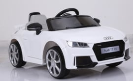 Audi TT RS 12V wit, 2.4ghz softstart, rubberbanden, leder (JE1198wt)